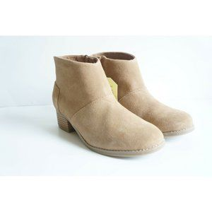 Toms Leila Toffee Boots Booties